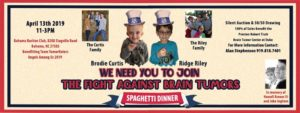 Spaghetti Dinner Benefiting Team TumorNators- Angels Among Us @ Bahama Ruritan Club