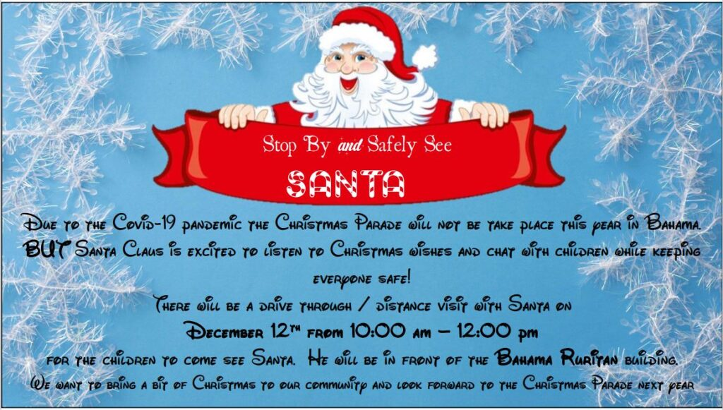 Come See Santa Safely
